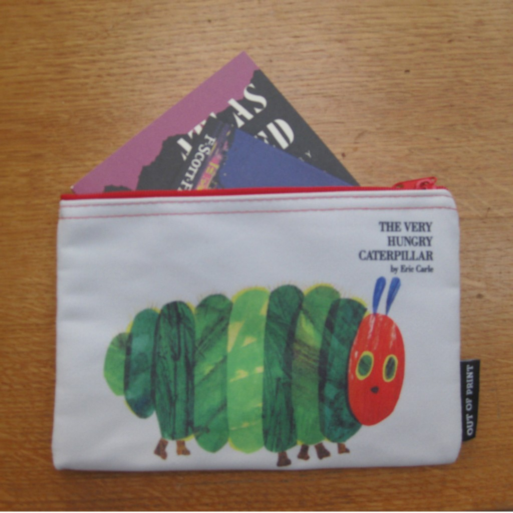 Hungry Caterpillar purse or pencil case