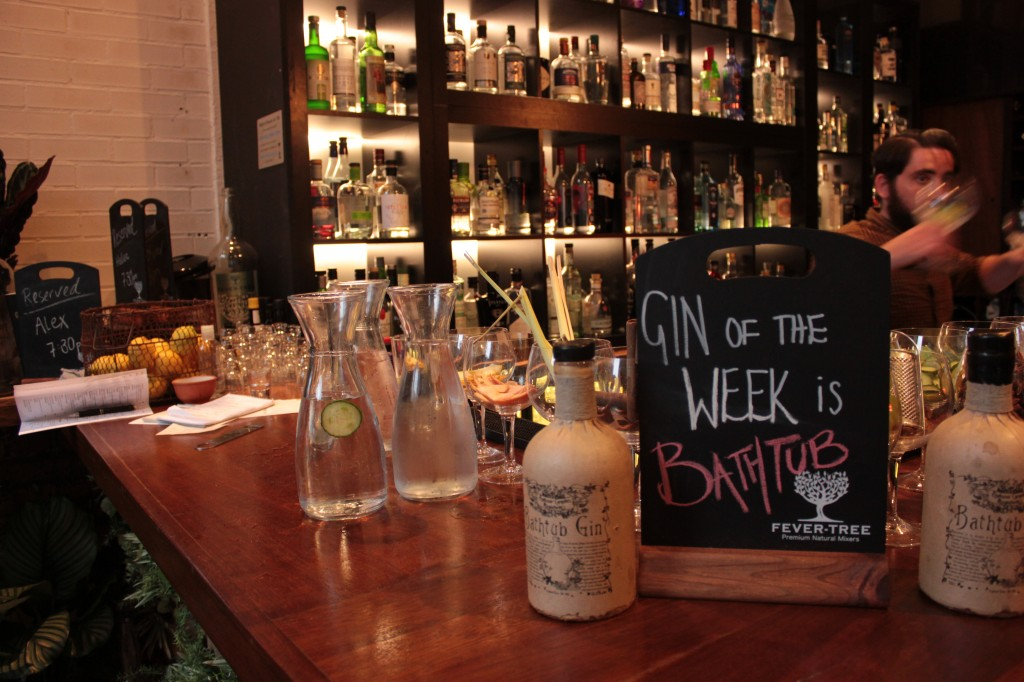 Fever-Tree Gin Pop Up Bar