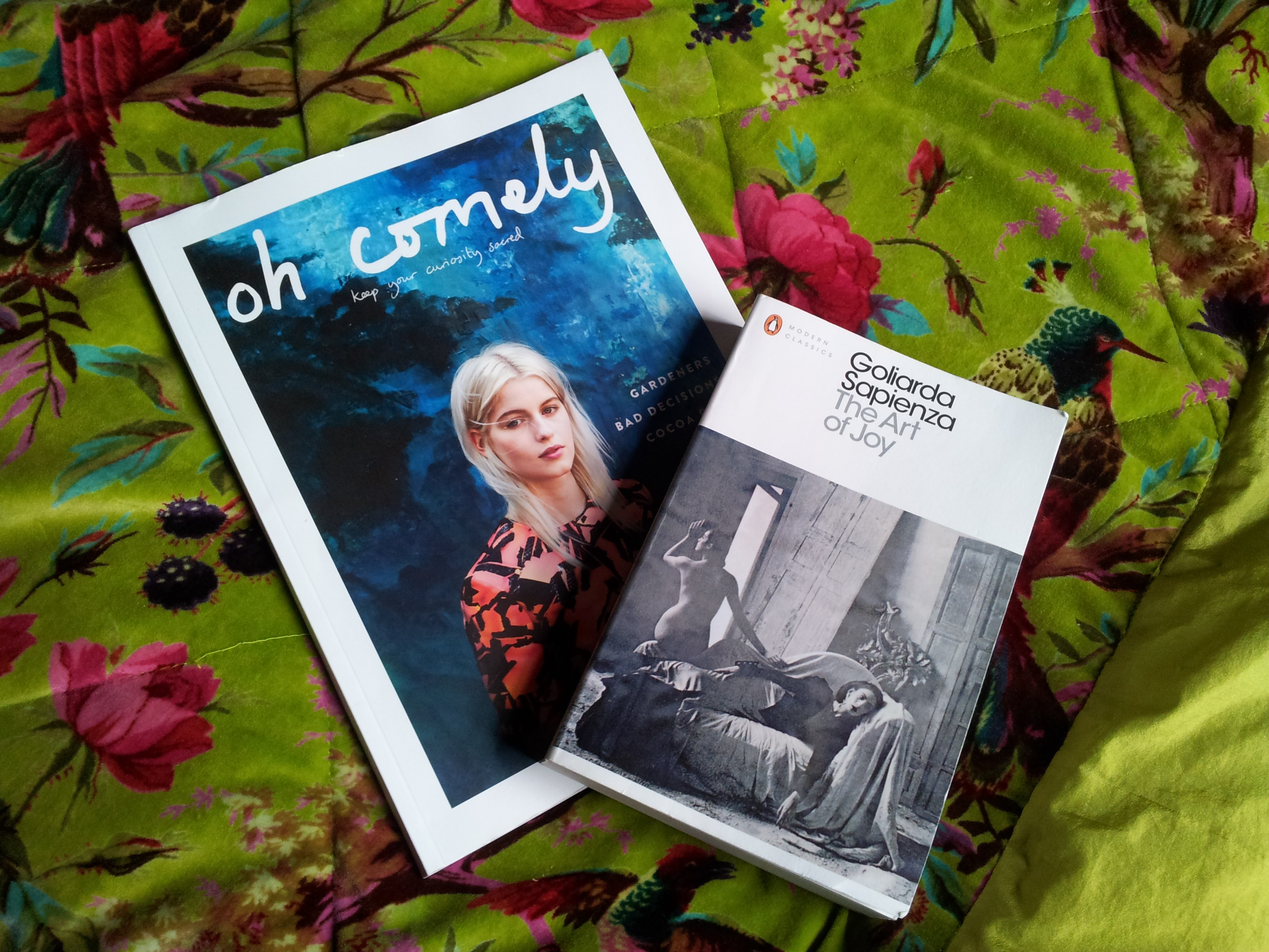 oh comely book club