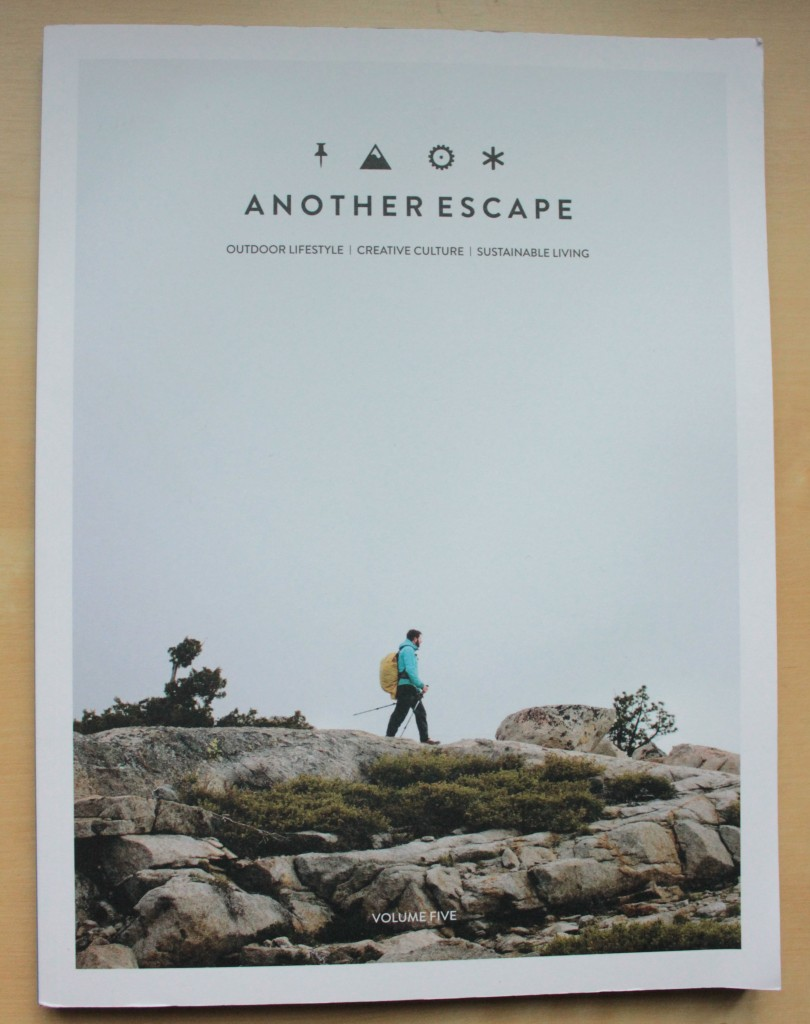 Magazine front cover of Another Escape, volume five