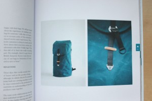 Another Escape magazine images of craft backpack in volume five