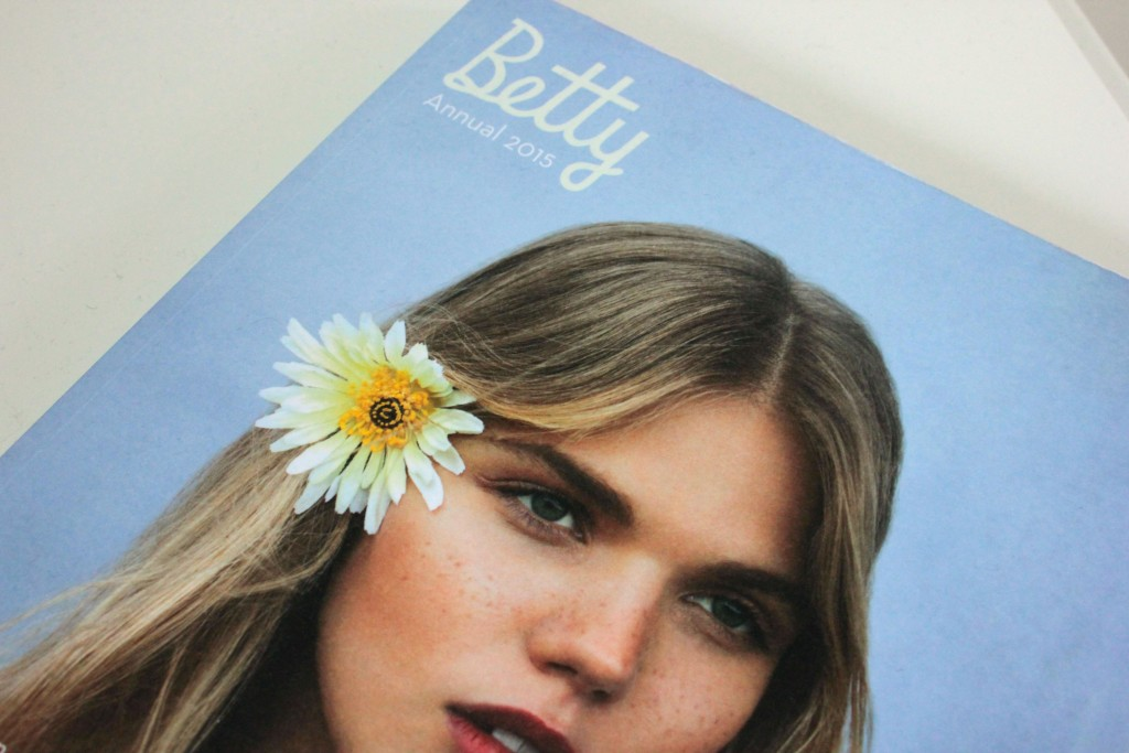 Betty magazine front cover