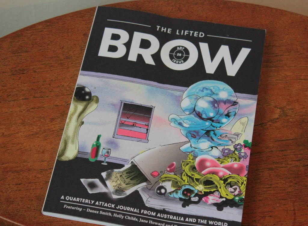 The Lifted Brow issue 28 cover