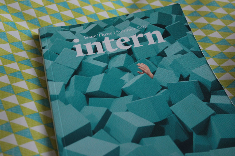 Intern magazine Education issue cover