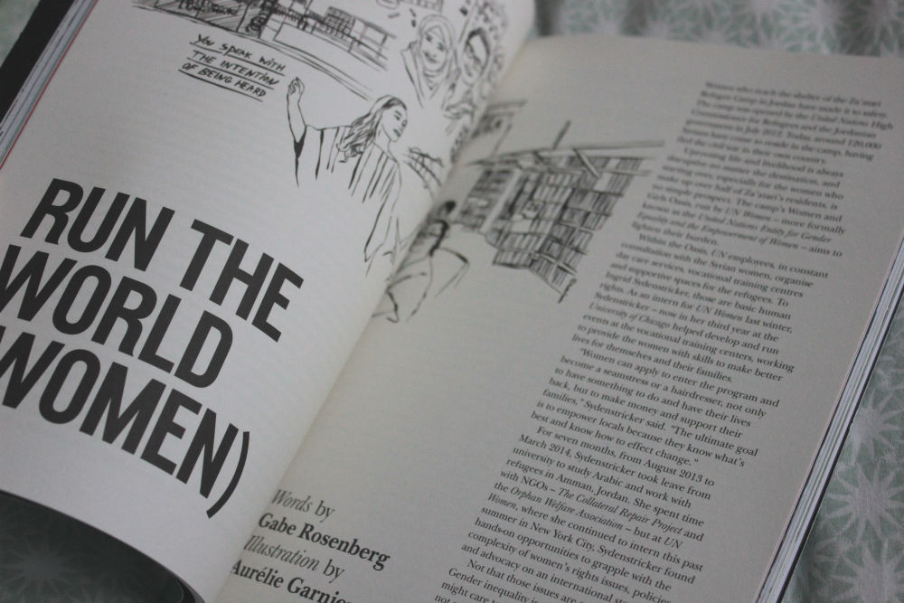 Intern magazine issue 3 run the world (women) article
