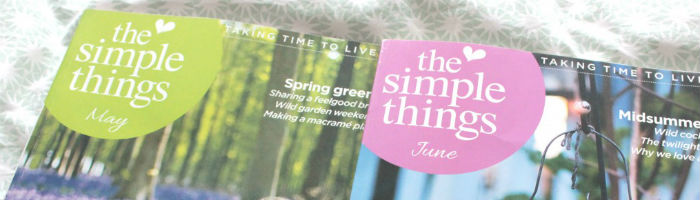 The Simple Things edit