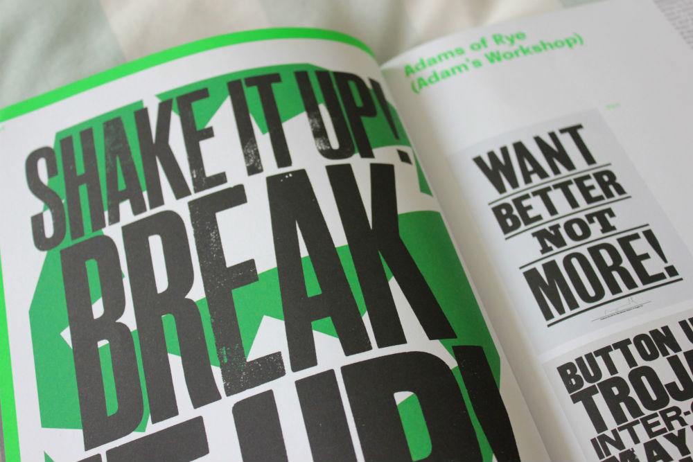 Print Isn't Dead inside Shake it up print
