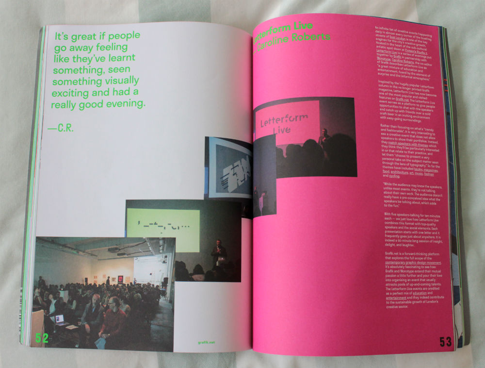 Print isn't Dead double page layout element 004 magazine