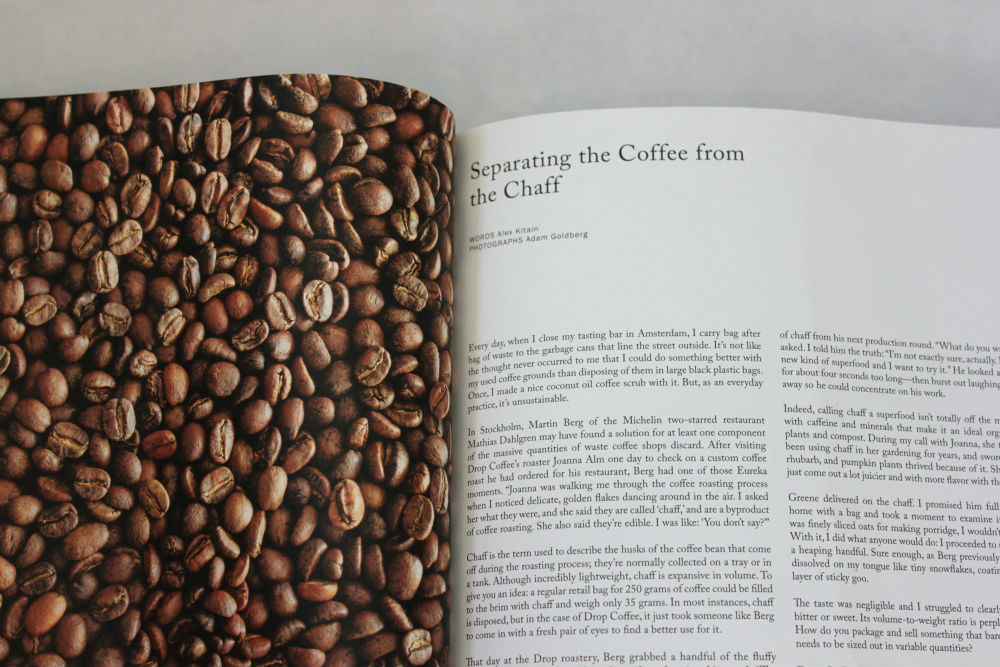 Drift Magazine issue 4: Stockholm coffee beans