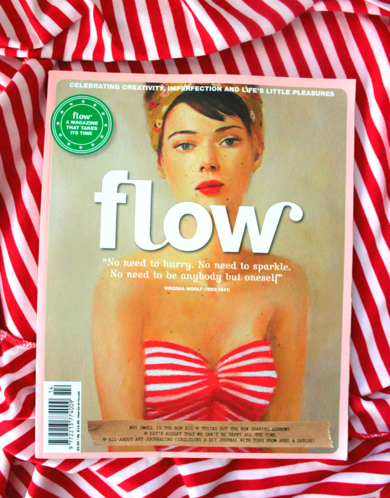 Flow Magazine cover issue 14