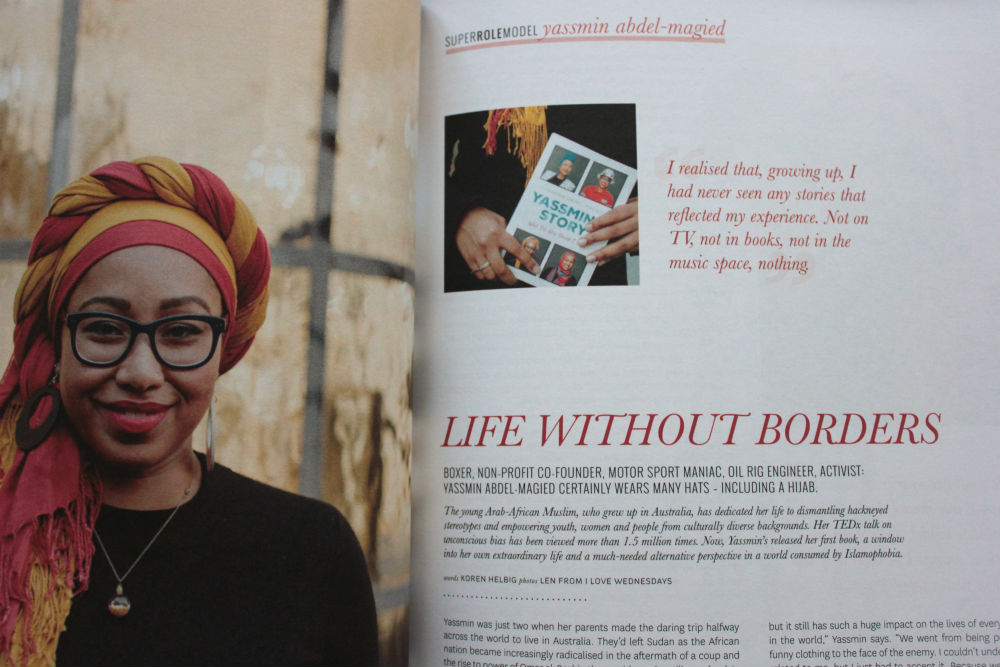 Peppermint magazine Yassmin Abdel-Magied