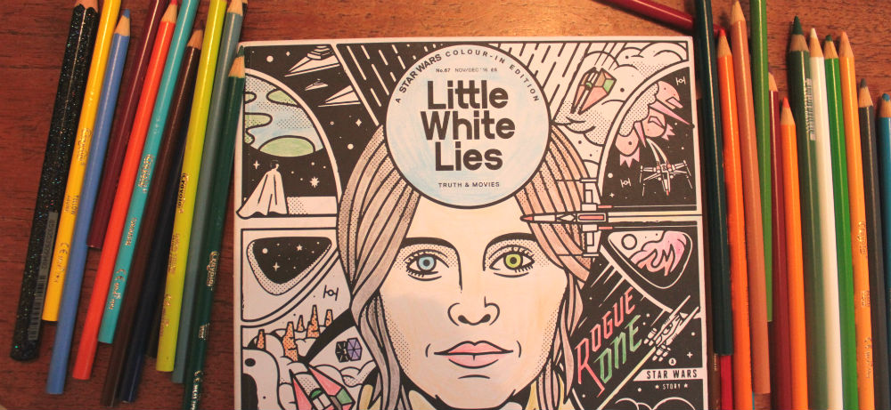 Little White Lies Star Wars edition coloured