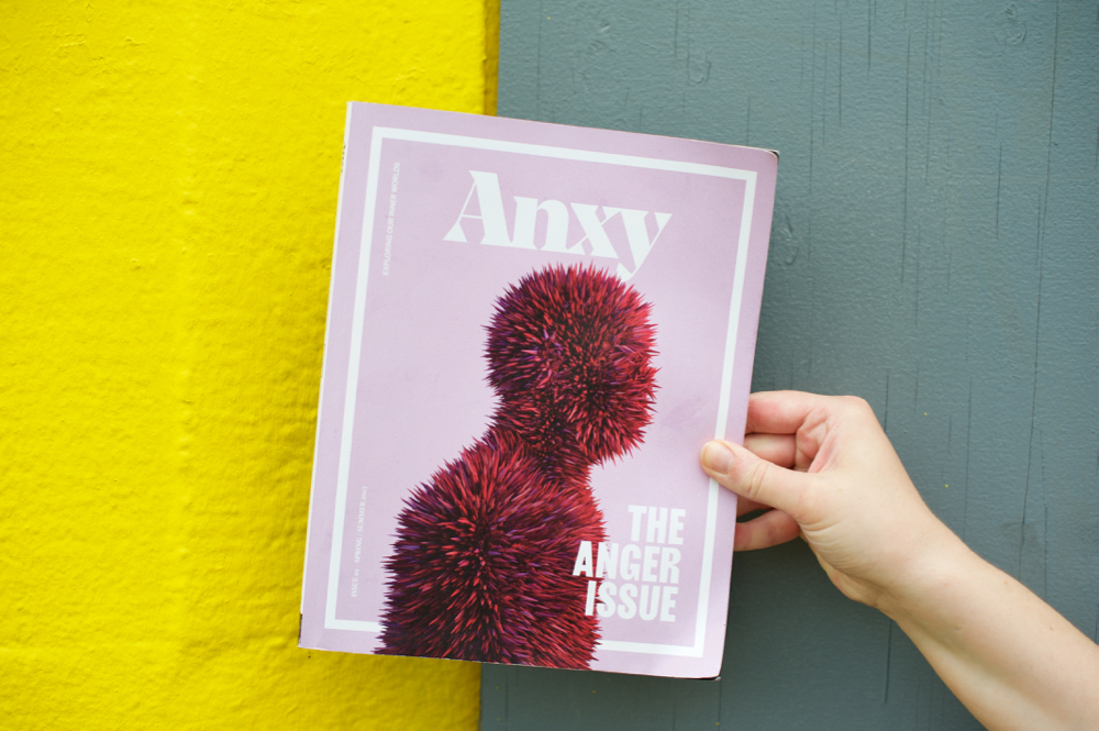 Anxy Magazine The Anger Issue