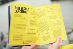 Anxy Magazine Our Secret Language