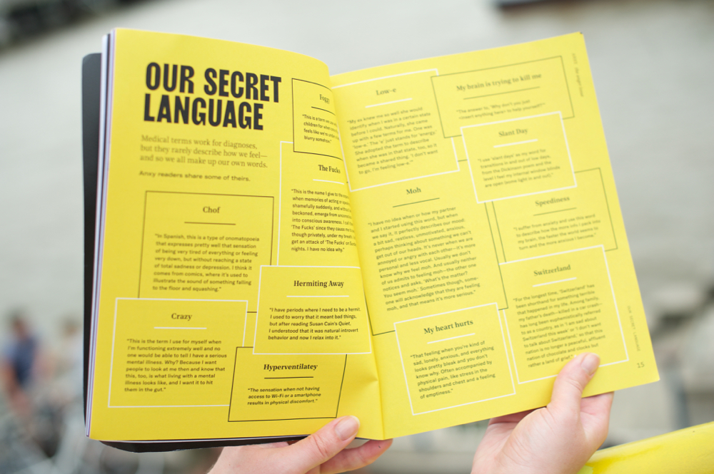 Anxy Magazine Our Secret Language