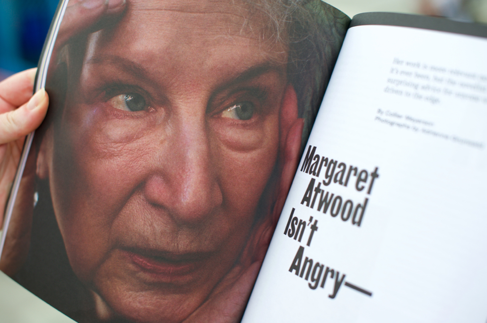 Anxy Magazine Margaret Atwood Isn't Angry