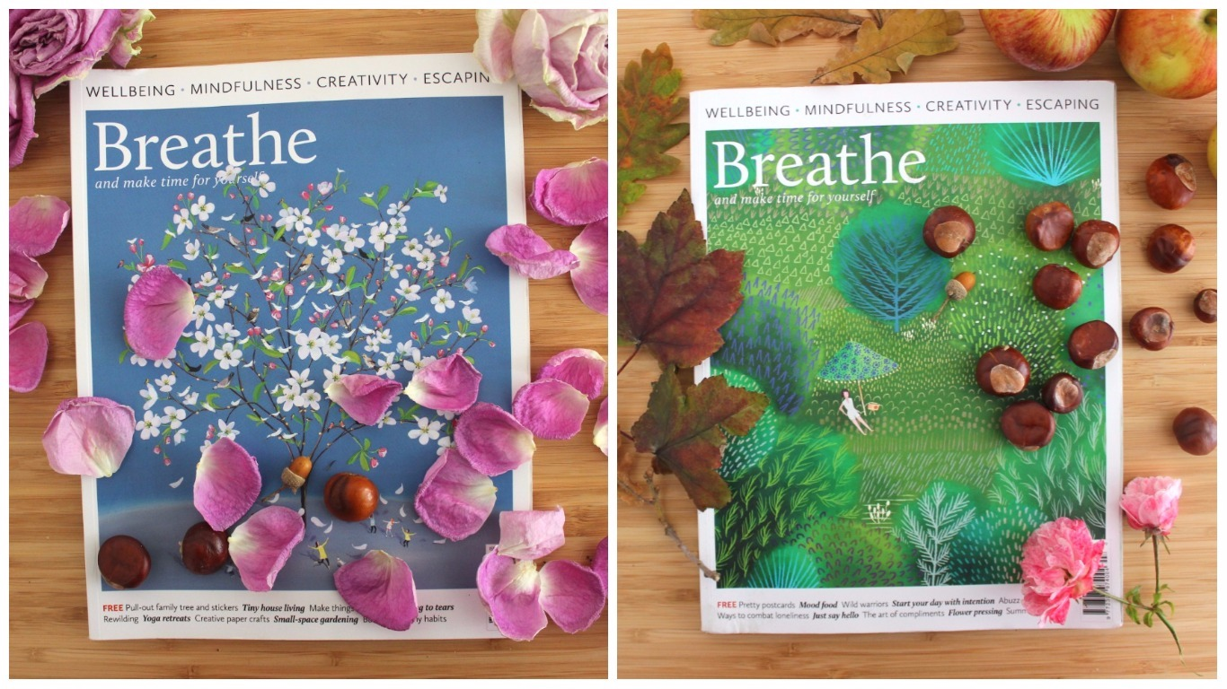 Breathe Magazine issue 5 and issue 7