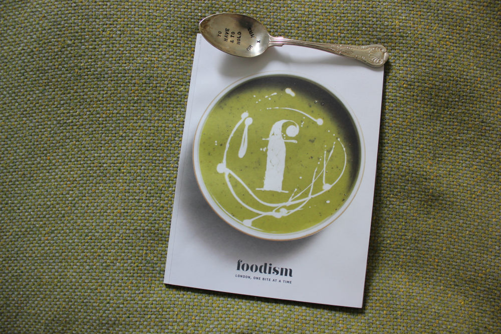 cover of Foodism magazine, issue 22