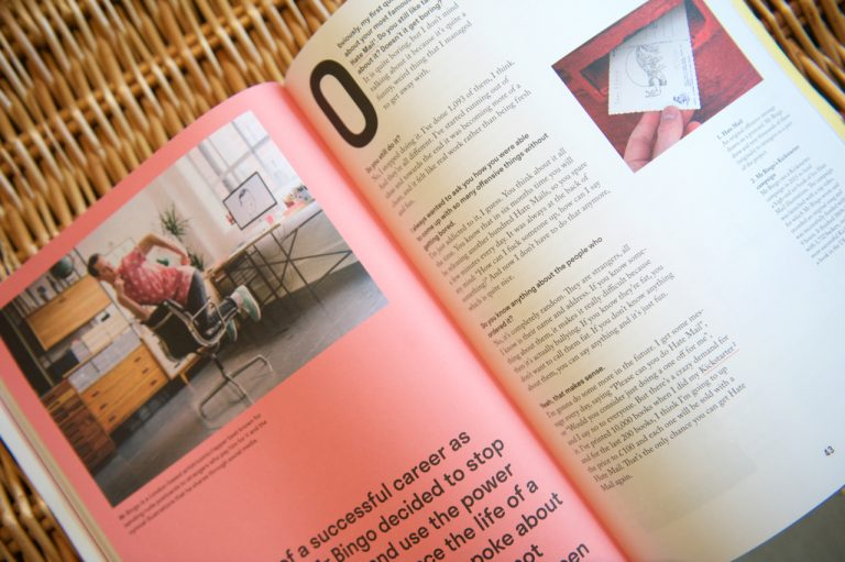 Mr Bingo interview in Backstage Talks issue 3