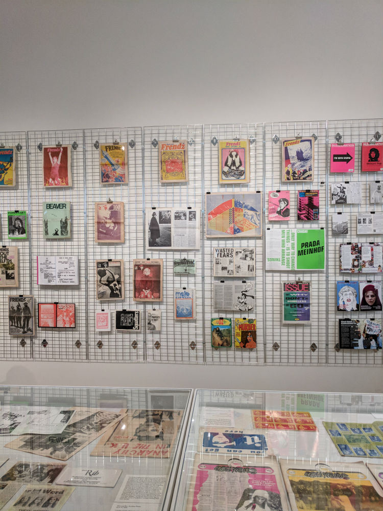 Print! Tearing It Up Exhibition gallery wall at Somerset House