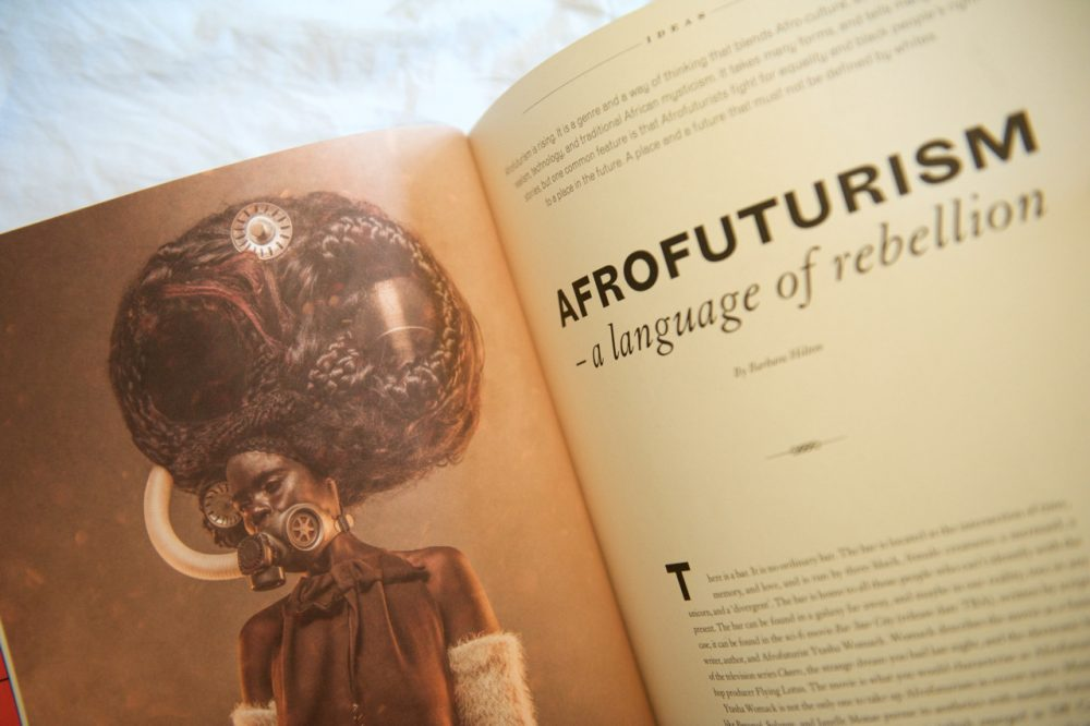 Afrofuturism in Scenario Magazine issue 2 2018