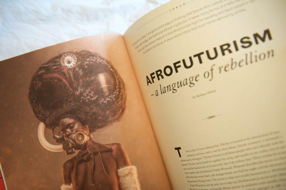 Afrofuturism in Scenario Magazine issue 2 2018