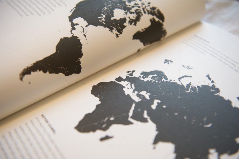 Scenario magazine map Copenhagen Institute for Futures Studies