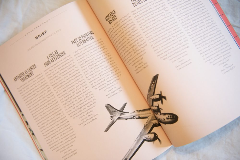 Scenario magazine Airplane Technology