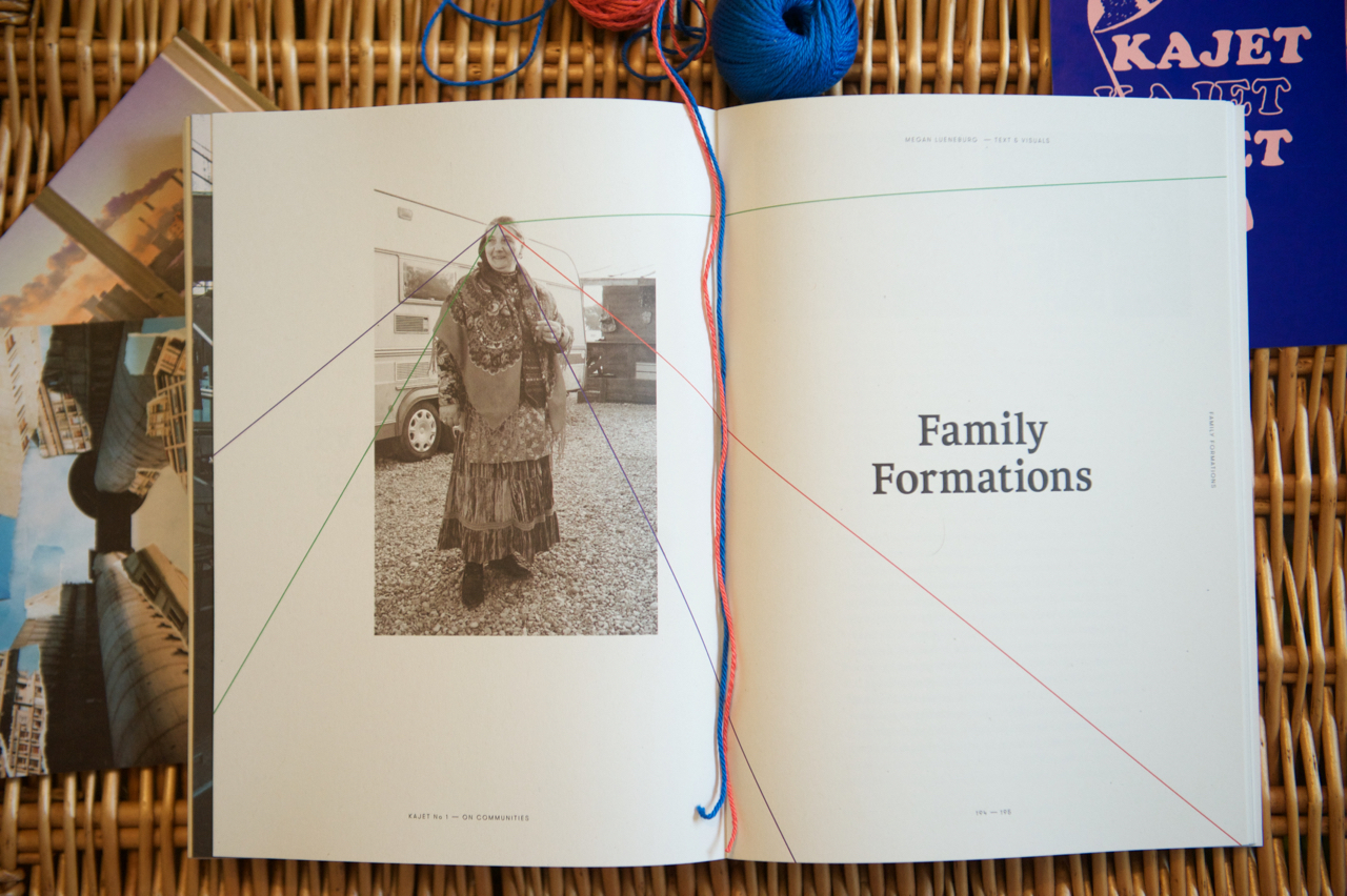 Kajet Journal Family Formations issue 1