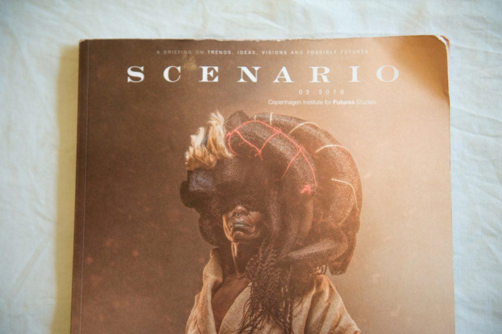 Scenario Magazine 2018 Afrofuturism magazine cover