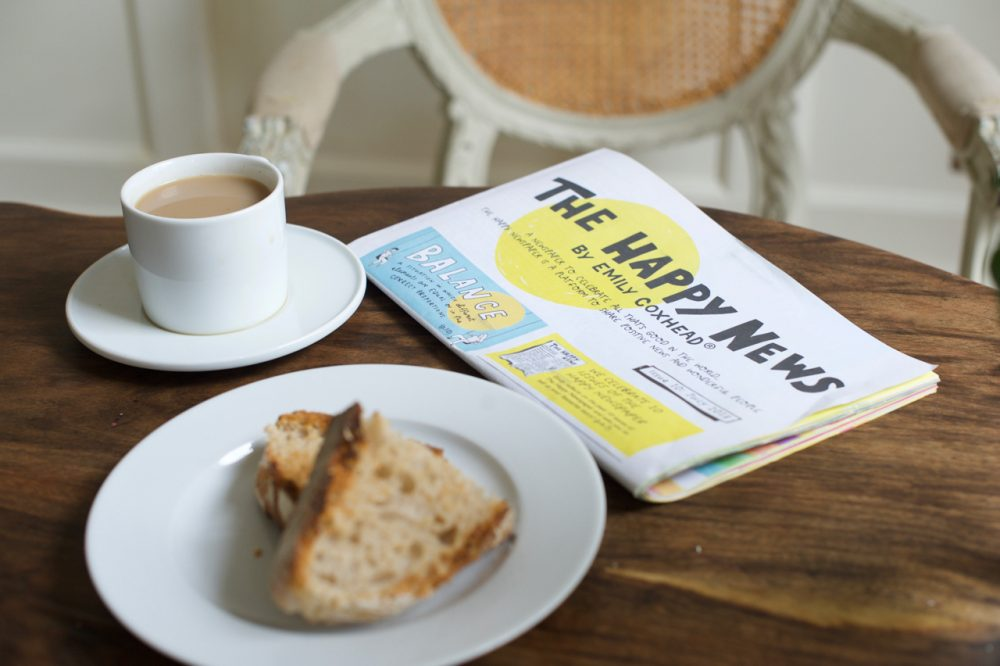 The Happy Newspaper breakfast