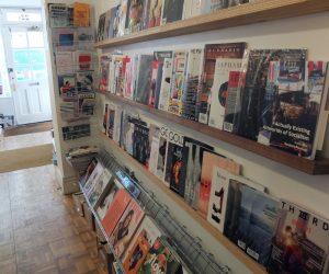 Magalleria magazine shelves