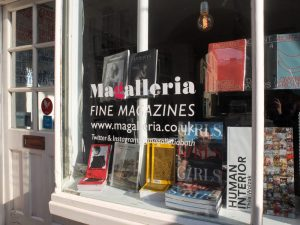 Magalleria shop front