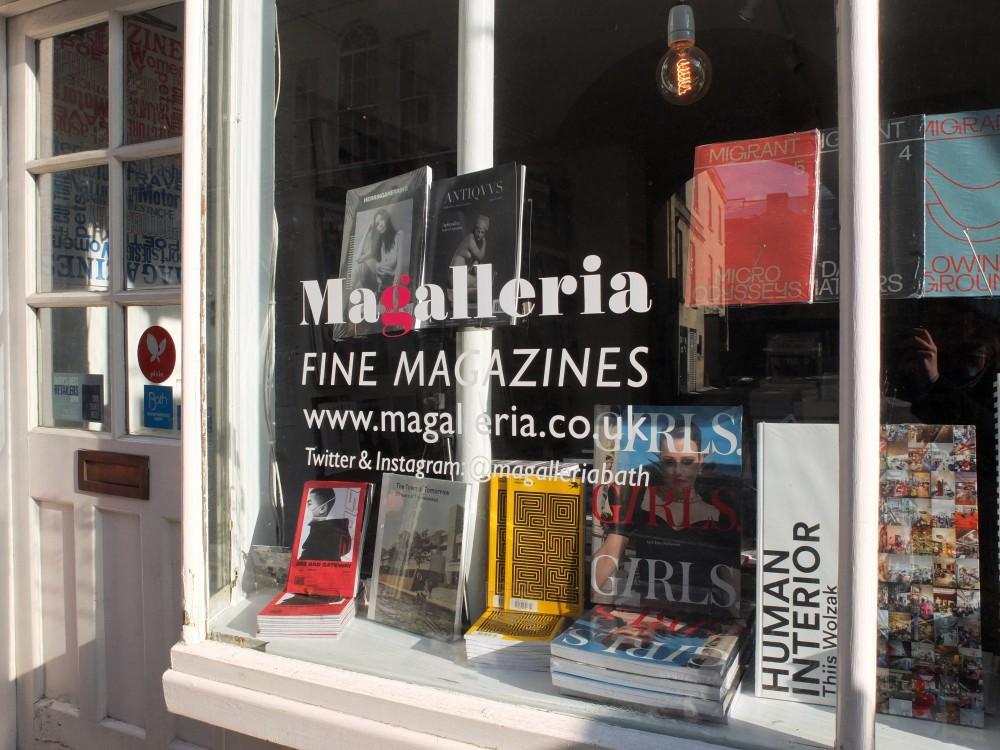 Magalleria shop front