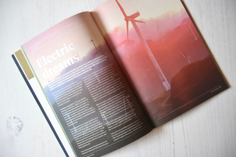 Ethos magazine story about electricity