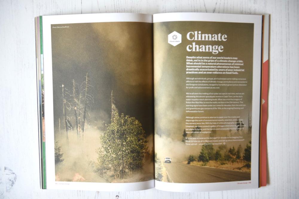 Ethos Magazine climate change