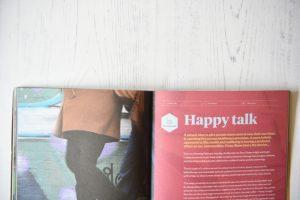 Ethos Magazine Happy Talk spread