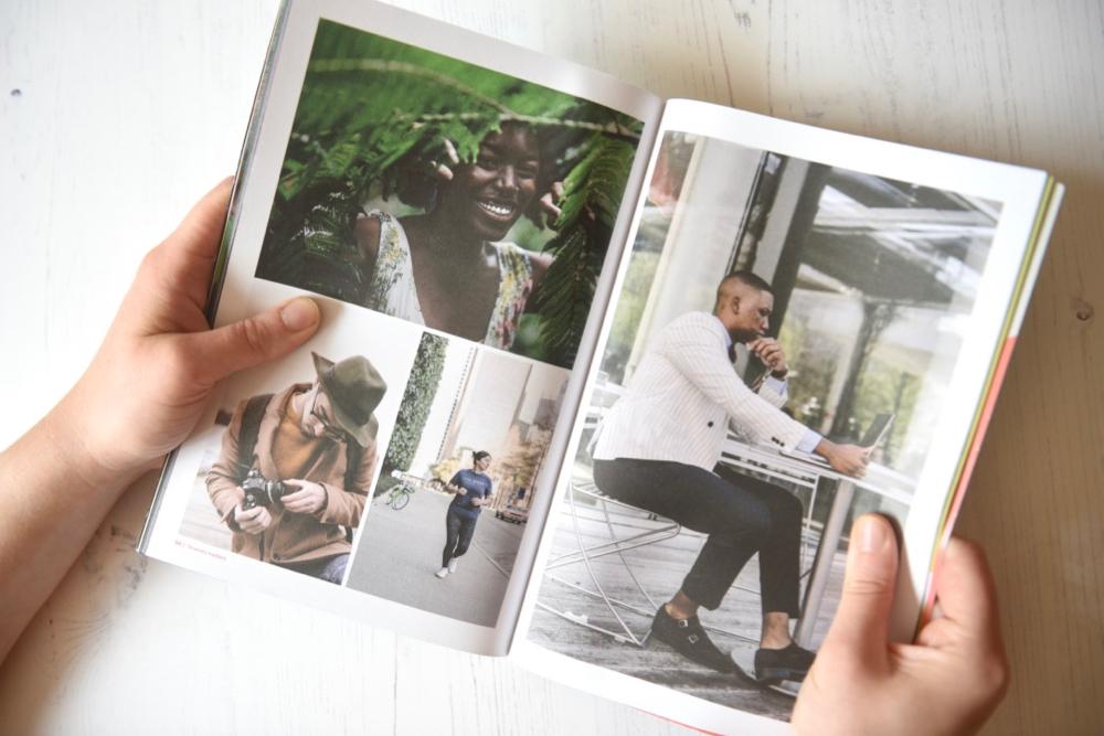 Ethos Magazine photospread about diversity