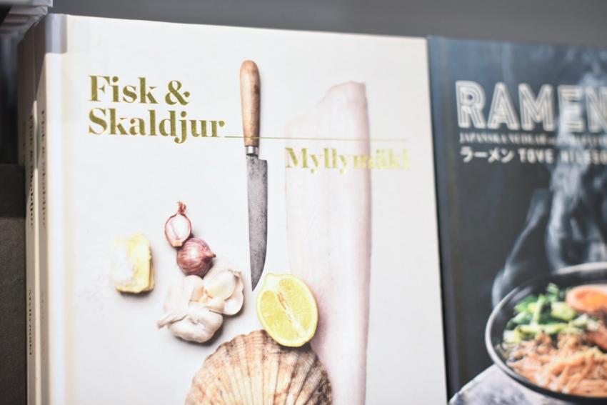 Fisk & Skaldjur Papercut Sweden