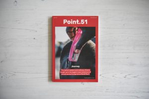 Point.51 magazine issue one Journey cover