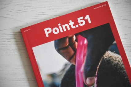 Point.51 magazine issue one Journey close up