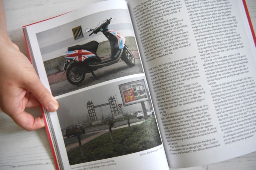 Point.51 magazine Union Jack motorcycle in Calais