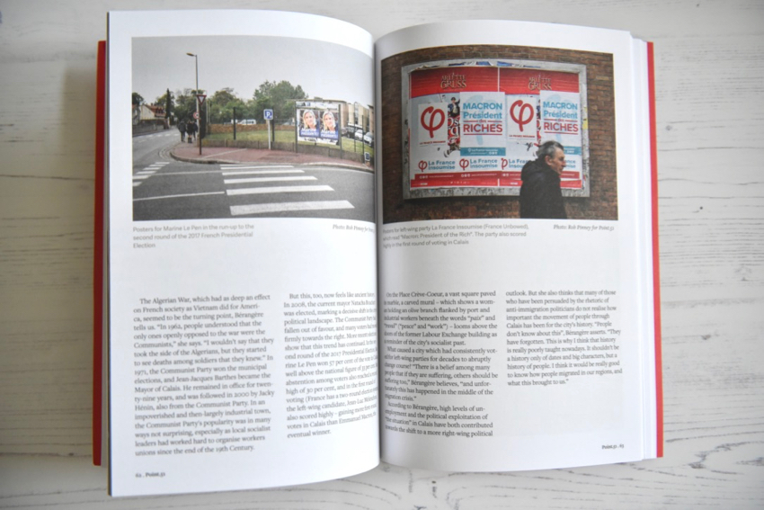 Point.51 magazine Calais story issue one