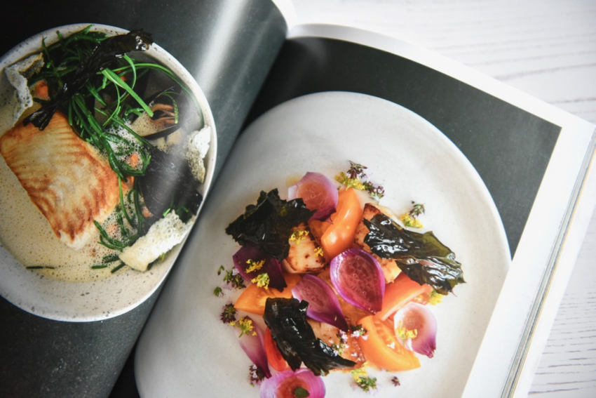 Fare magazine Glasgow issue food flatlays at Inver restaurant
