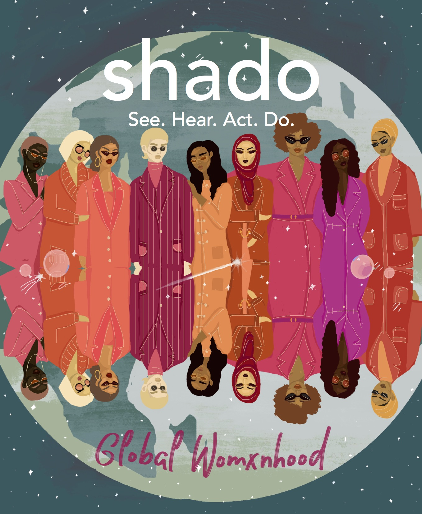 Shado Magazine issue two cover