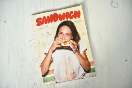 Sandwich Magazine issue 1 The BLT front cover