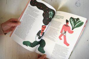 Sandwich magazine BLT magazine issue 1 growing lettuce in space illustration