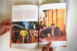 Sandwich magazine issue 1 BLT cleaning up after La Tomatina festival