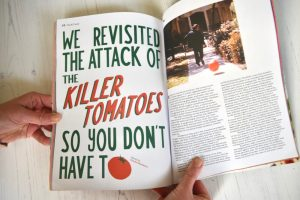 Sandwich Magazine BLT issue 1 Killer Tomatoes