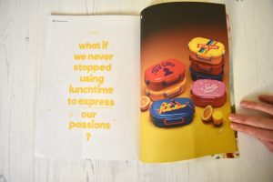 Sandwich magazine issue 1 BLT lunchbox